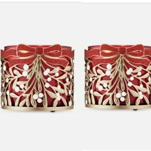Bath & Body Works Set of 2 Candle Holders